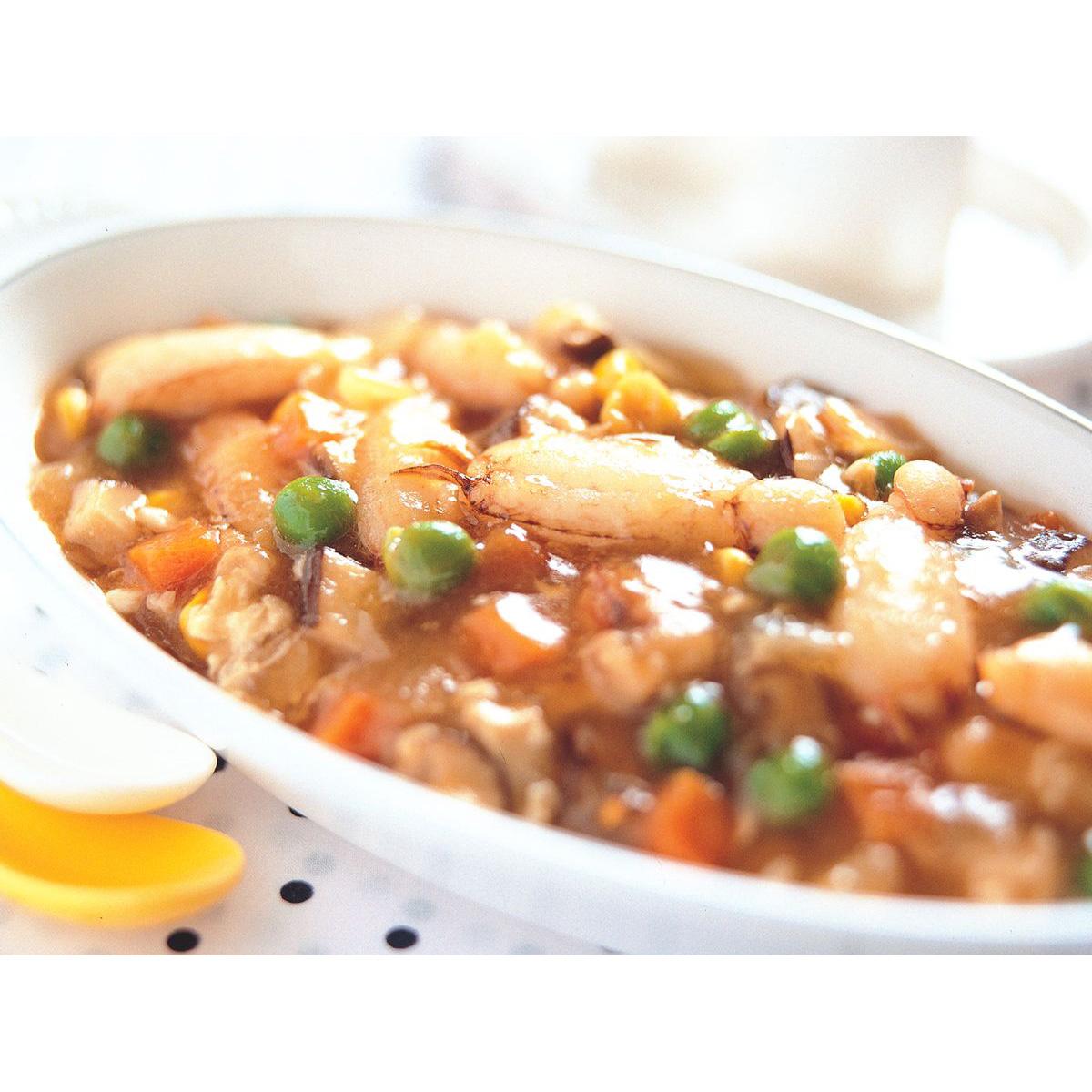 食譜:芙蓉蟹肉羹