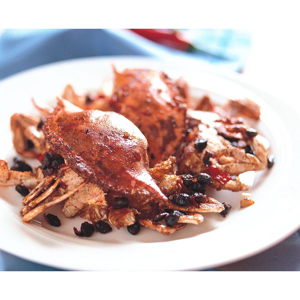 食譜:避風塘炒蟹