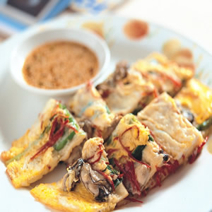 韓式牡蠣煎餅