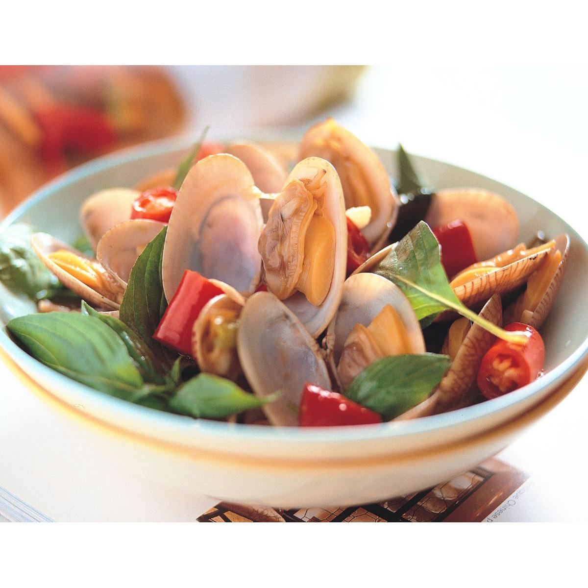 食譜:塔香海瓜子