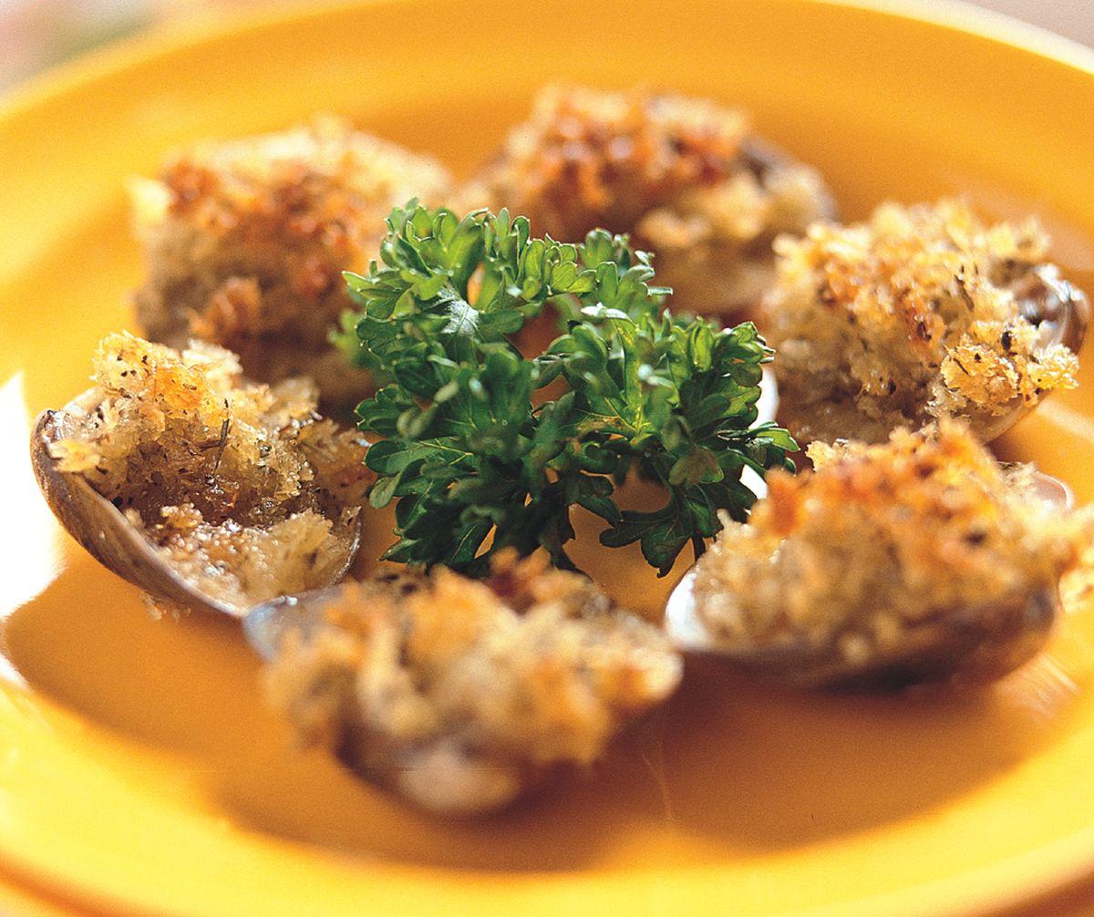 食譜:香草焗蛤蜊