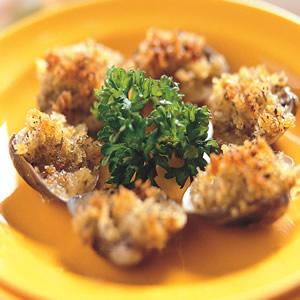 香草焗蛤蜊