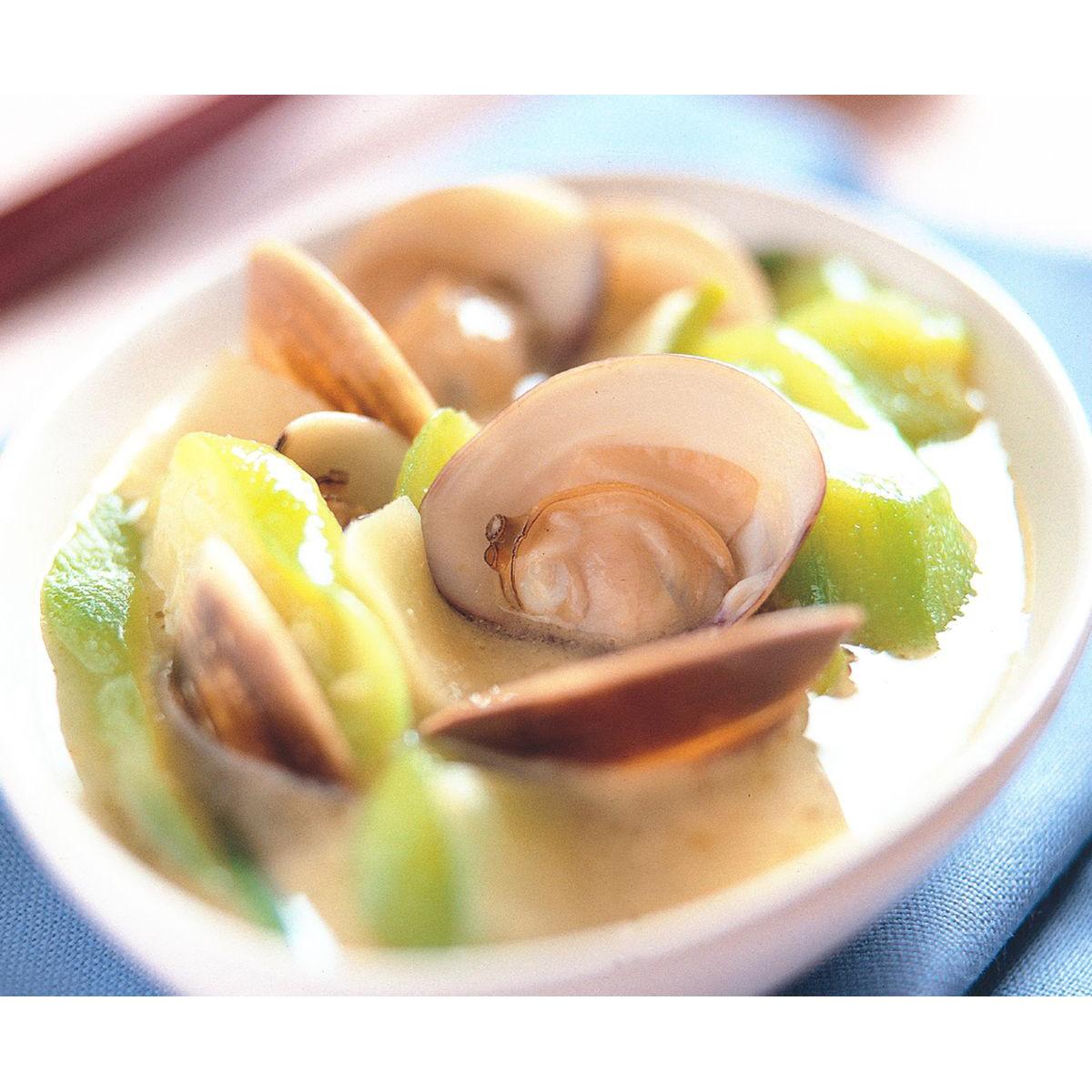 食譜:角瓜文蛤