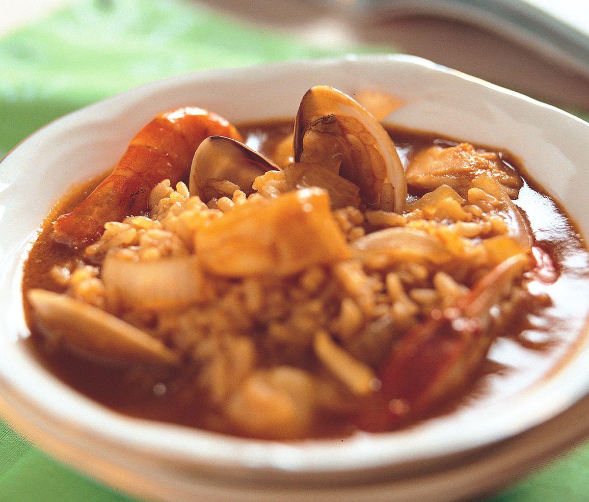 食譜:咖哩海鮮燉飯