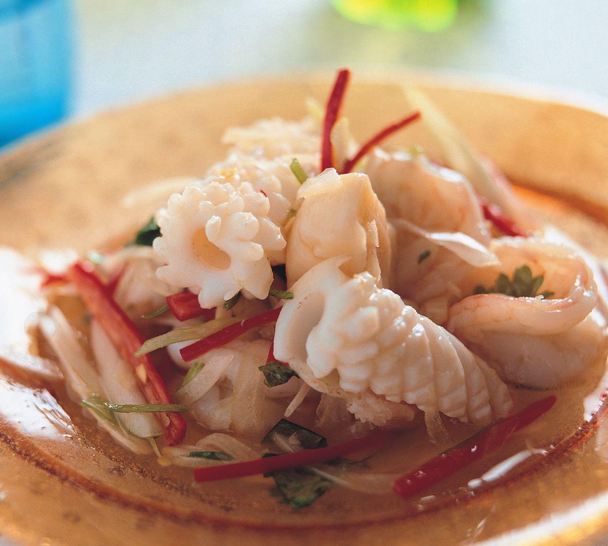 食譜:泰式涼拌海鮮總匯