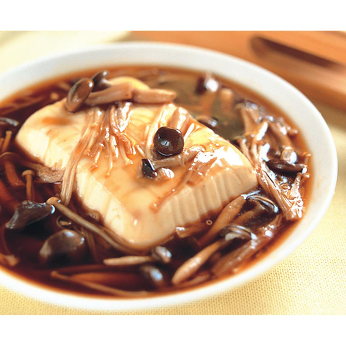 食譜:鮮菇蒸豆腐