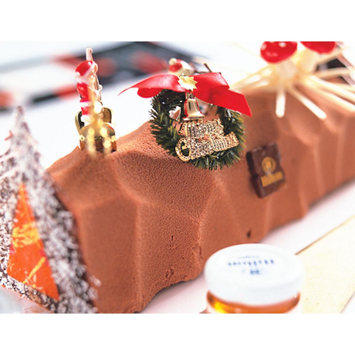 食譜:樹幹蛋糕