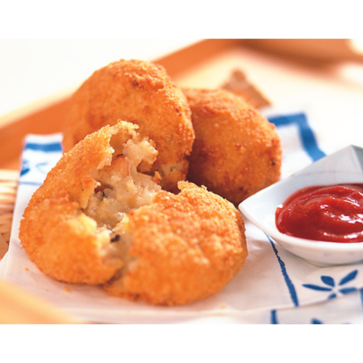食譜:蟹肉奶油可樂餅