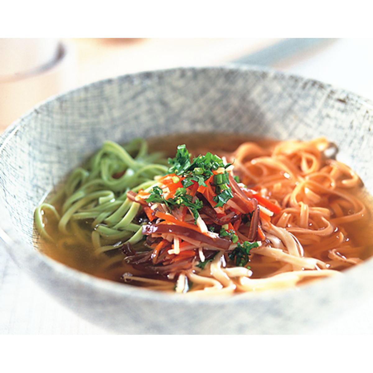 食譜:三色蔬菜麵
