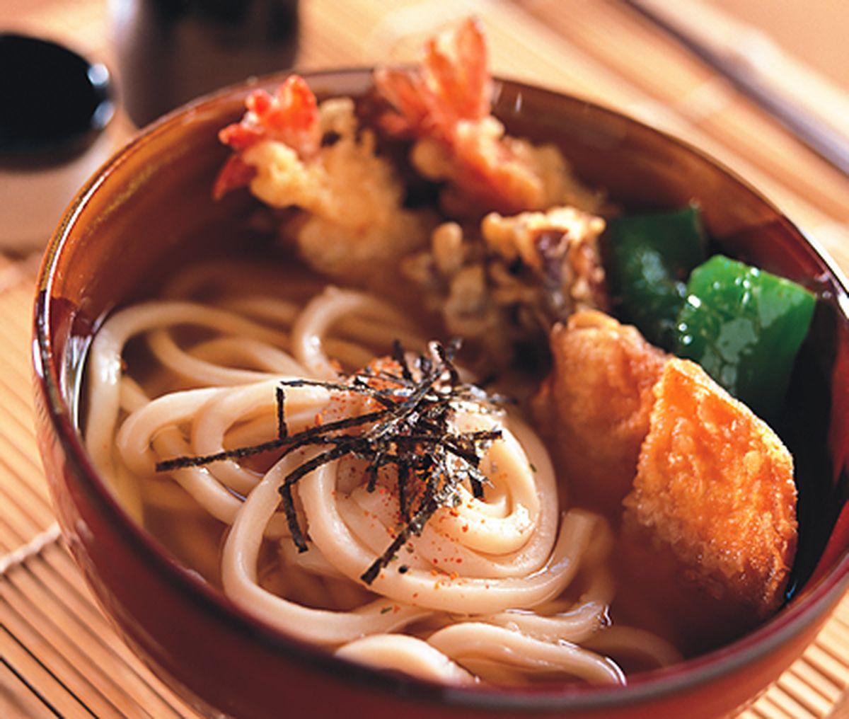 食譜:天婦羅烏龍麵