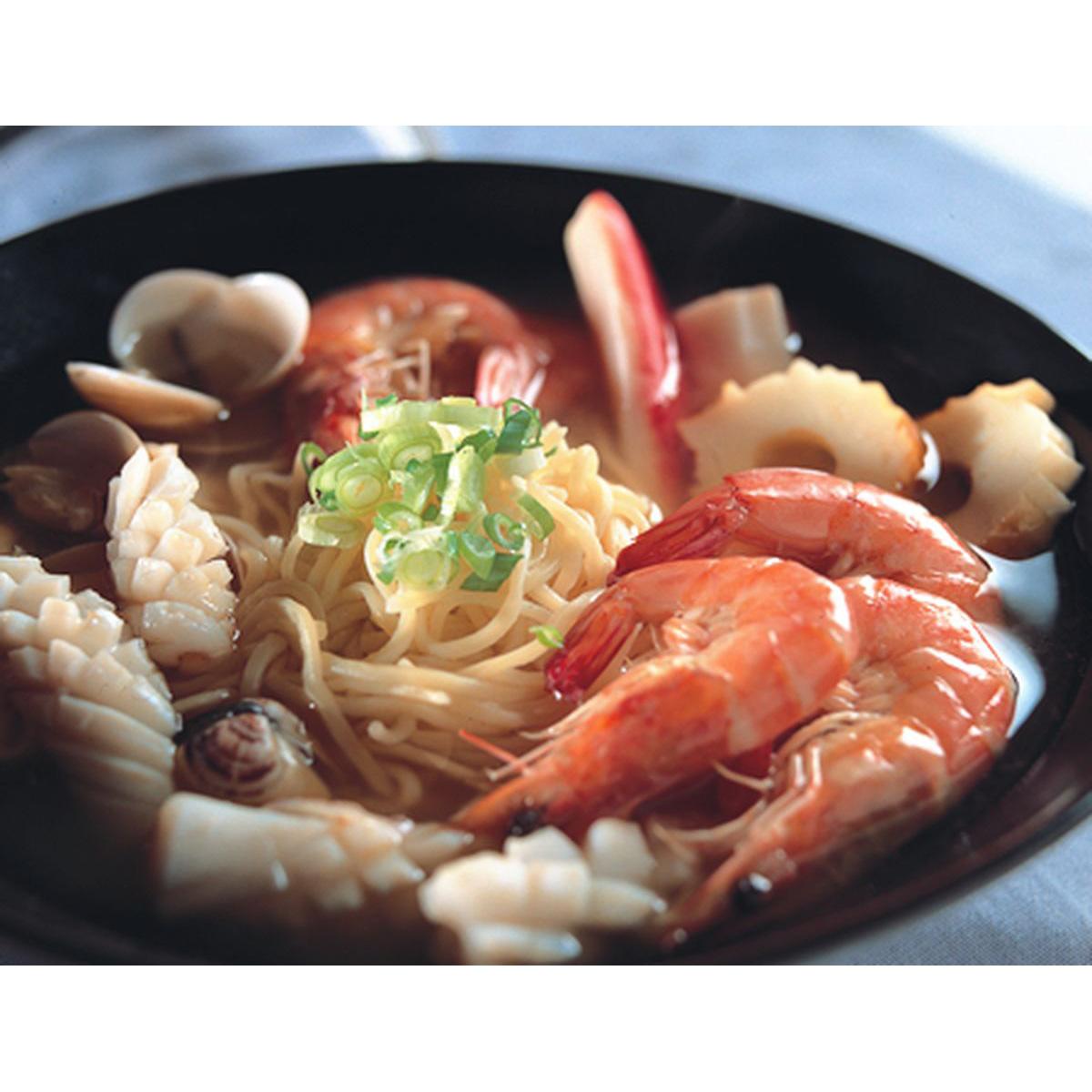 食譜:海鮮拉麵