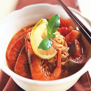 泰式酸辣蝦麵