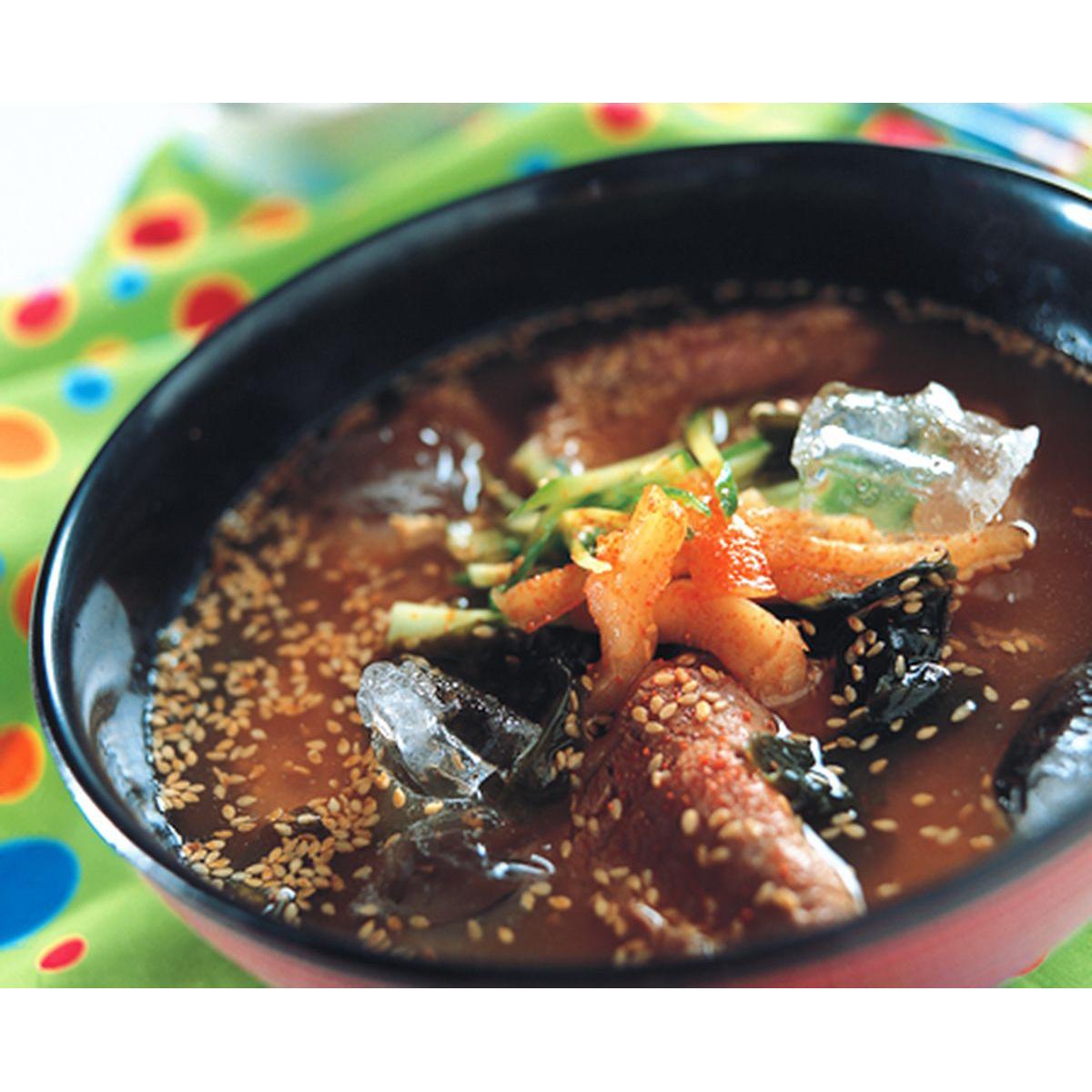 食譜:韓式冷湯麵