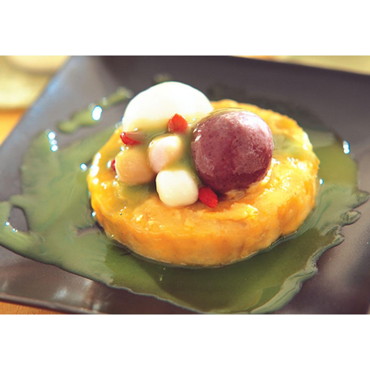食譜:紫糯金薯泥