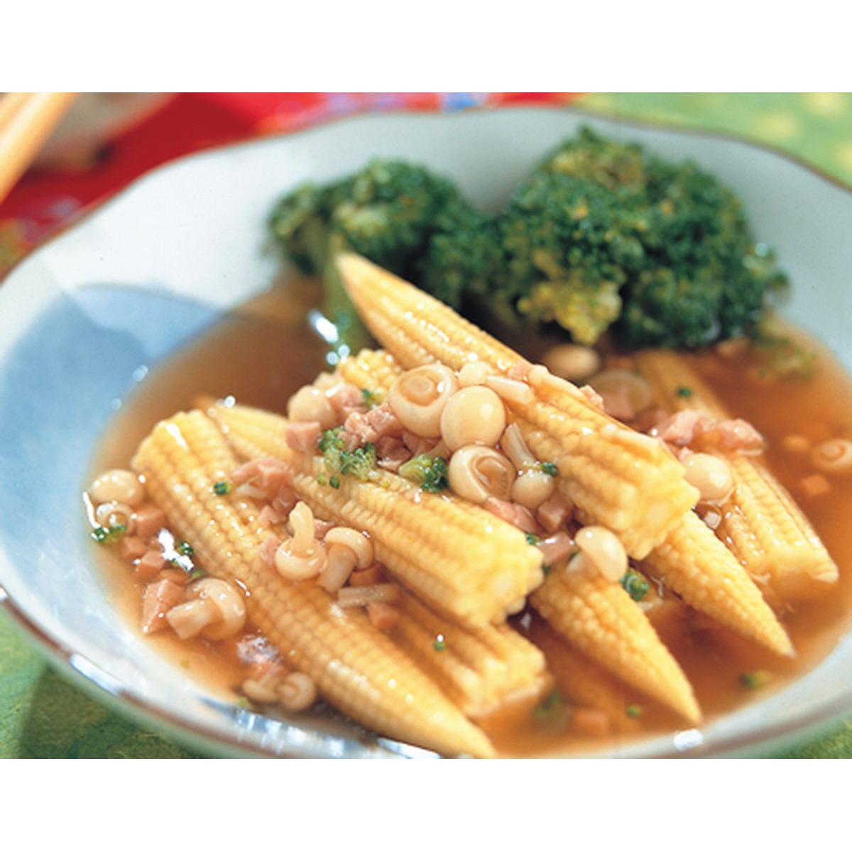 食譜:金菇玉筍