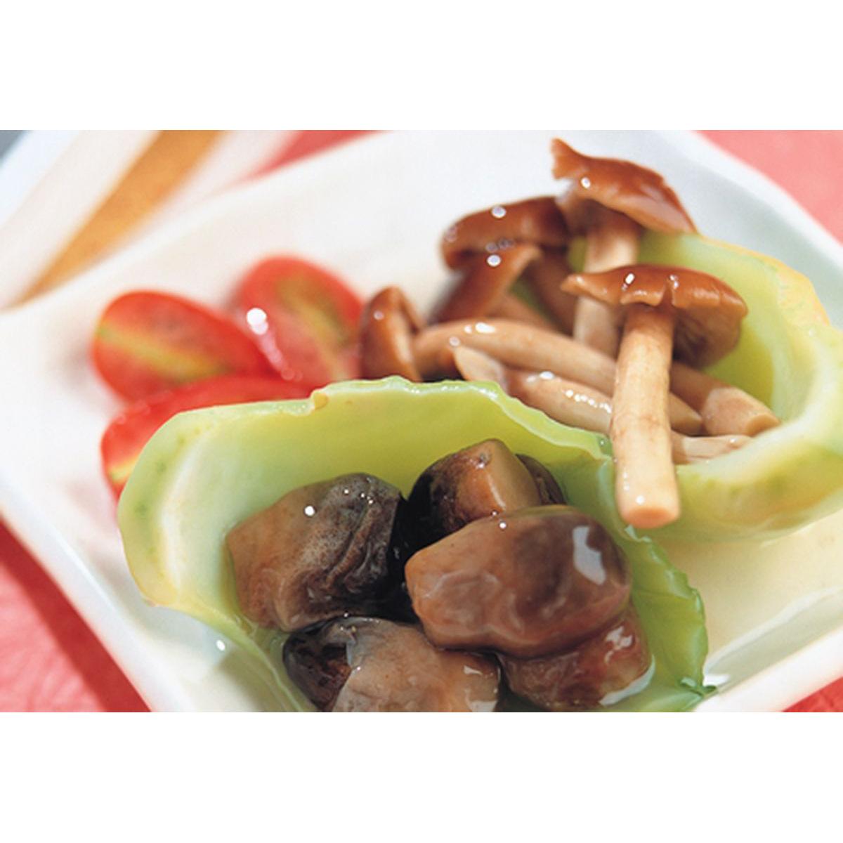 食譜:芥菜心燴雙菇