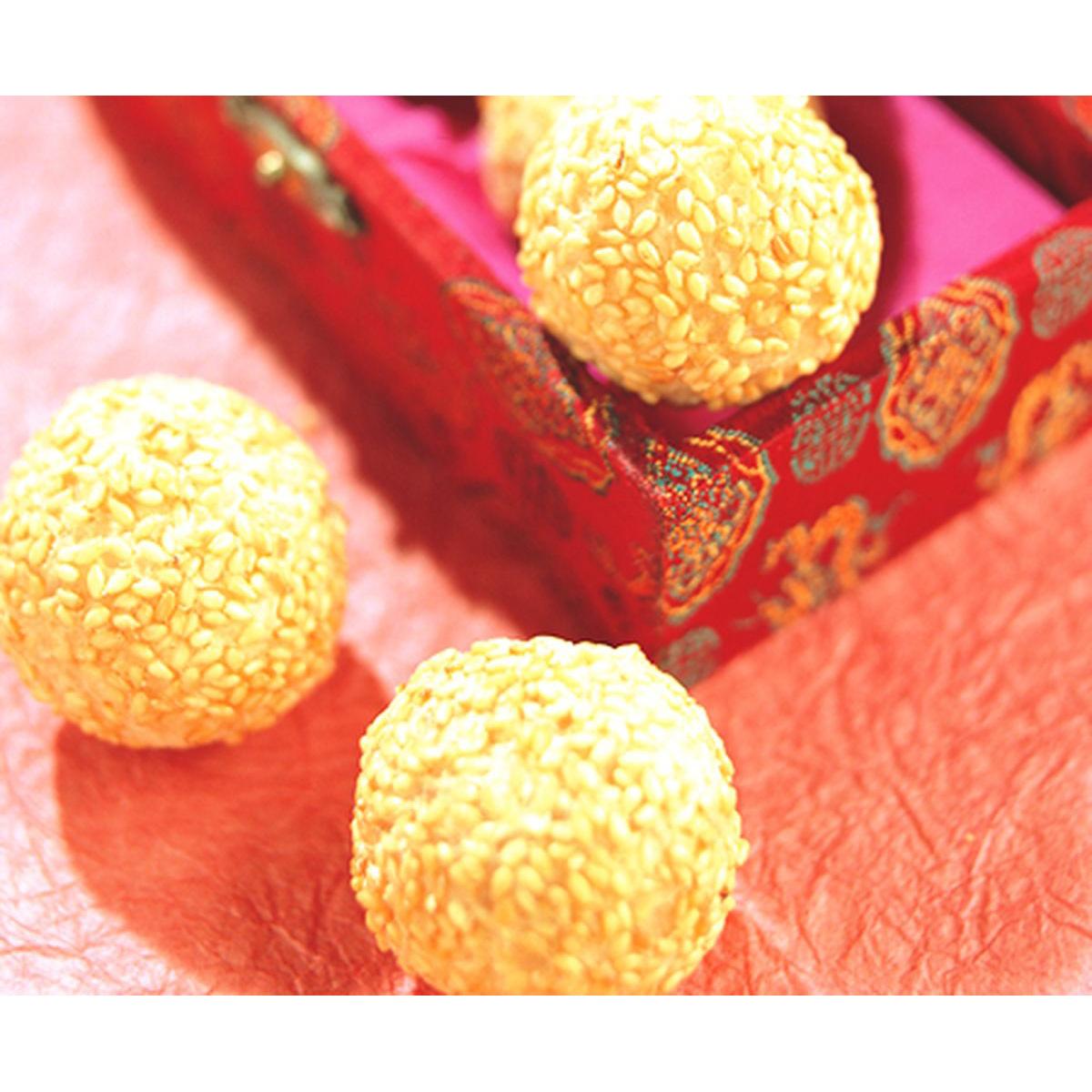 食譜:黃金球