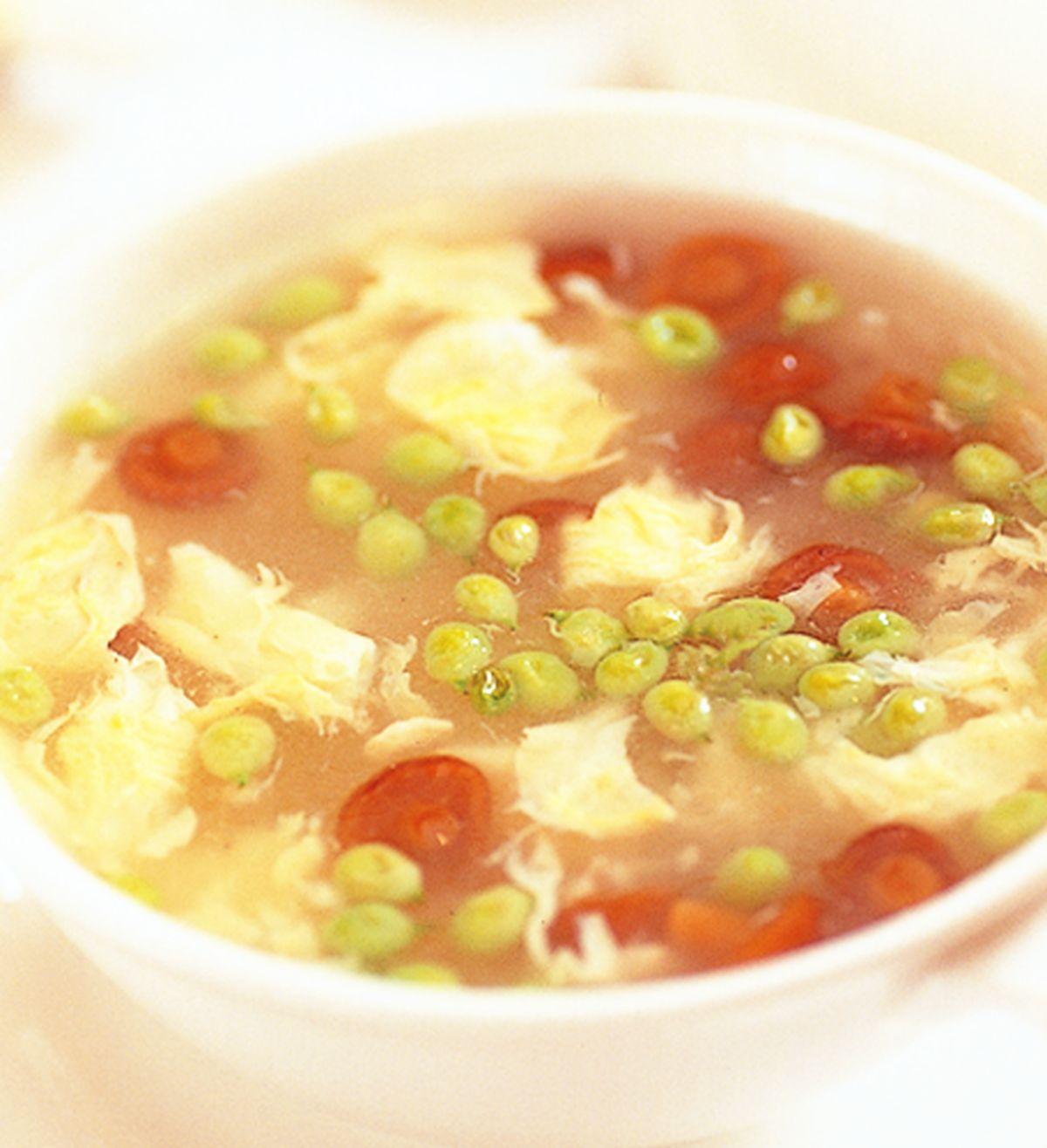 食譜:菊花甜豆珍姑竹笙湯