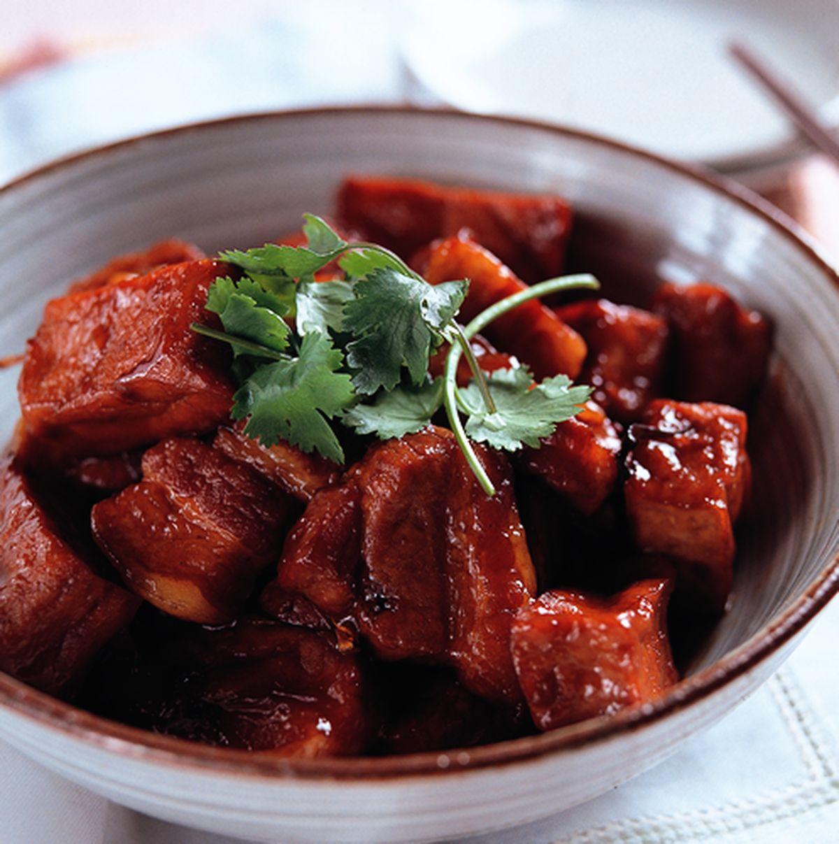 食譜:油豆腐燒排骨