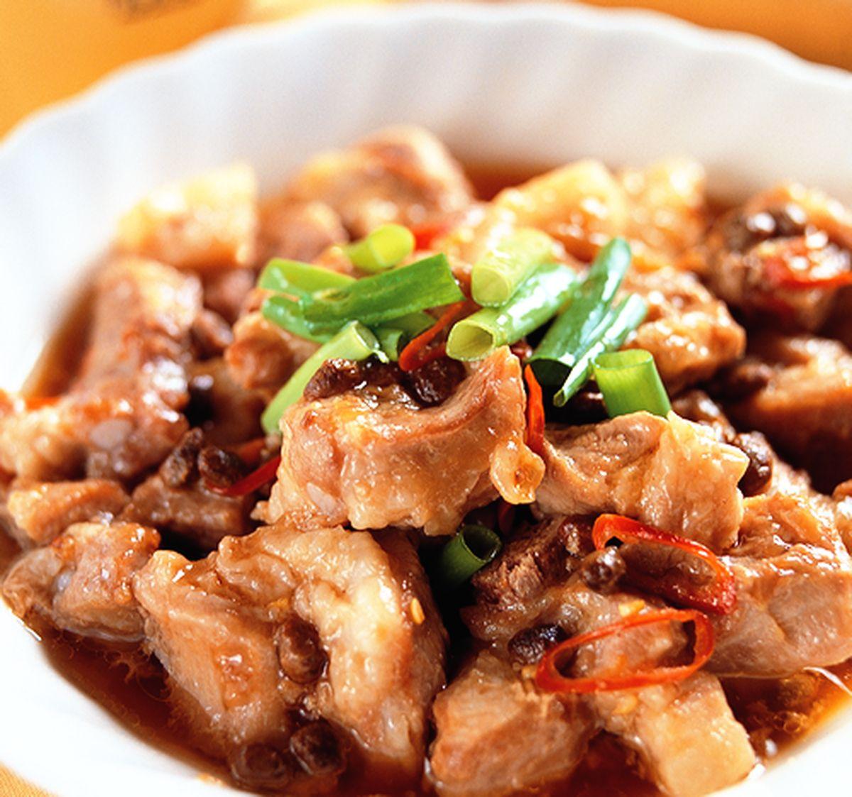 食譜:豆豉蒸排骨(1)