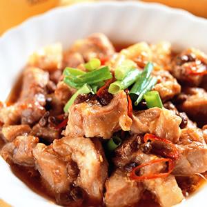 豆豉蒸排骨(1)
