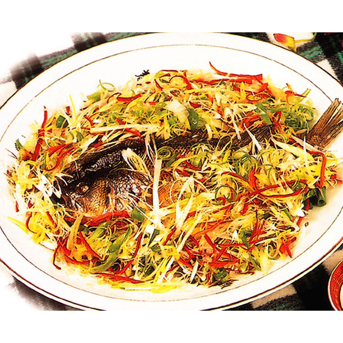 食譜:青蔥蒸魚