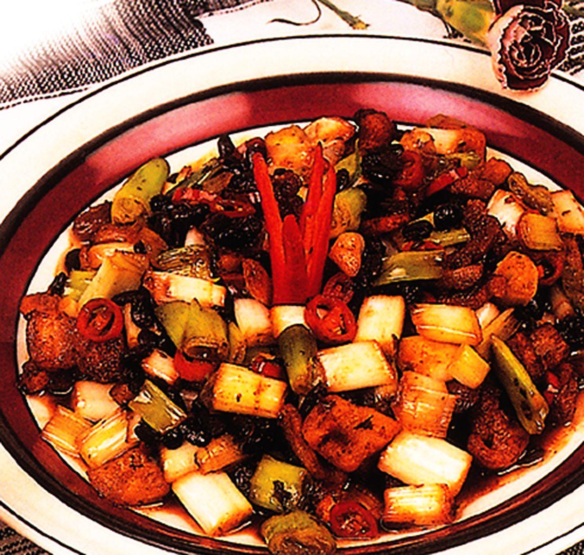 食譜:豆豉青蔥