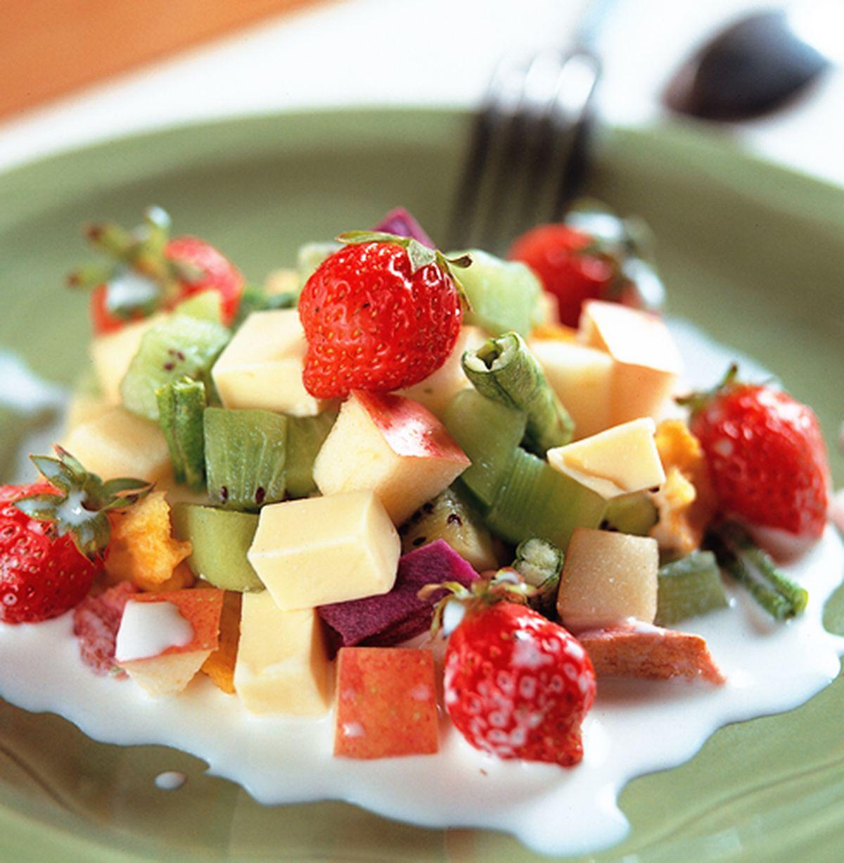 食譜:鮮奶沙拉