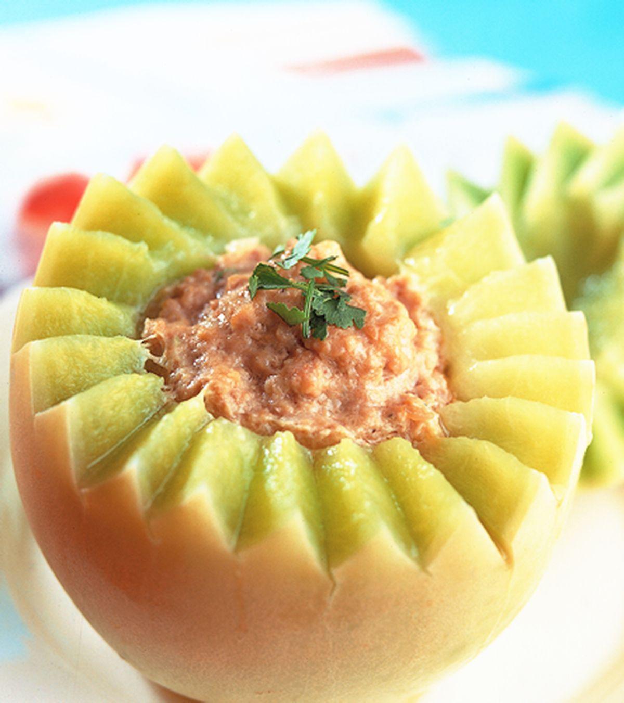 食譜:蜜香瓜盅