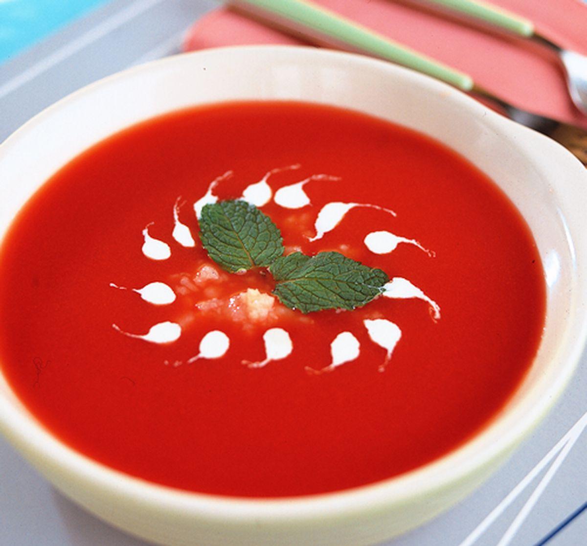 食譜:蕃茄冷湯