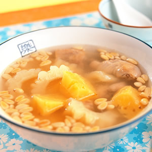 鳳梨苦瓜雞(1)