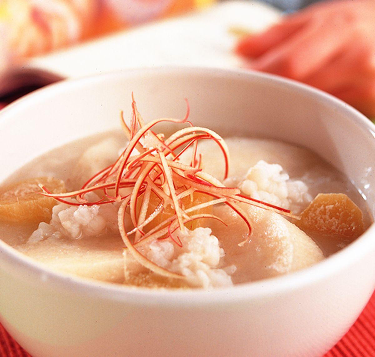 食譜:甘蔗水梨粥