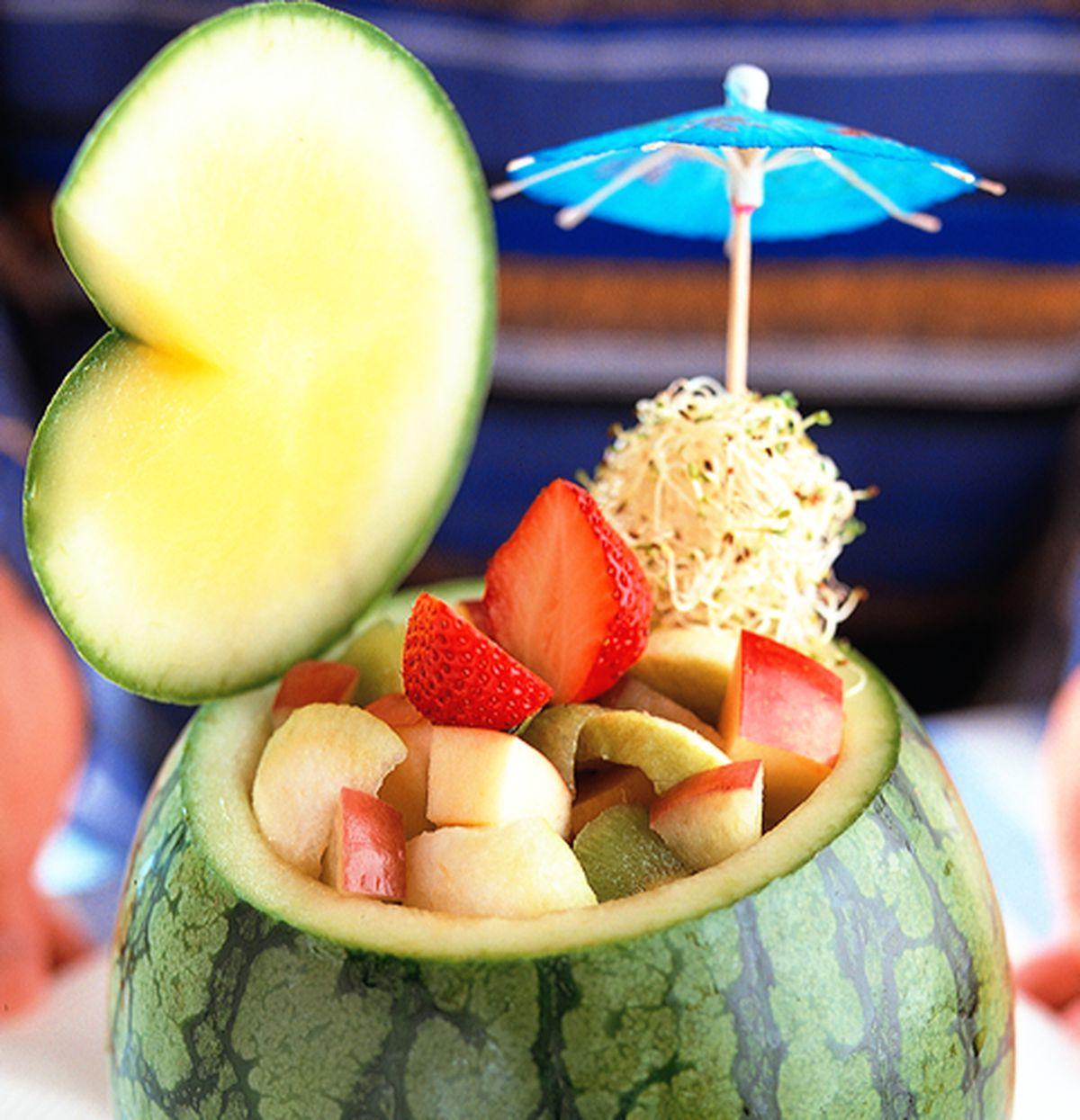 食譜:西瓜水果盅