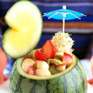 西瓜水果盅