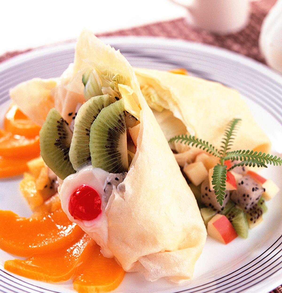 食譜:奇異水果捲