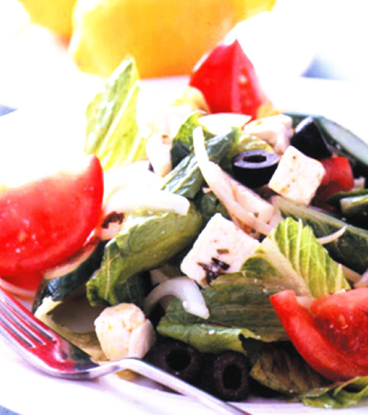 食譜:希臘起司沙拉