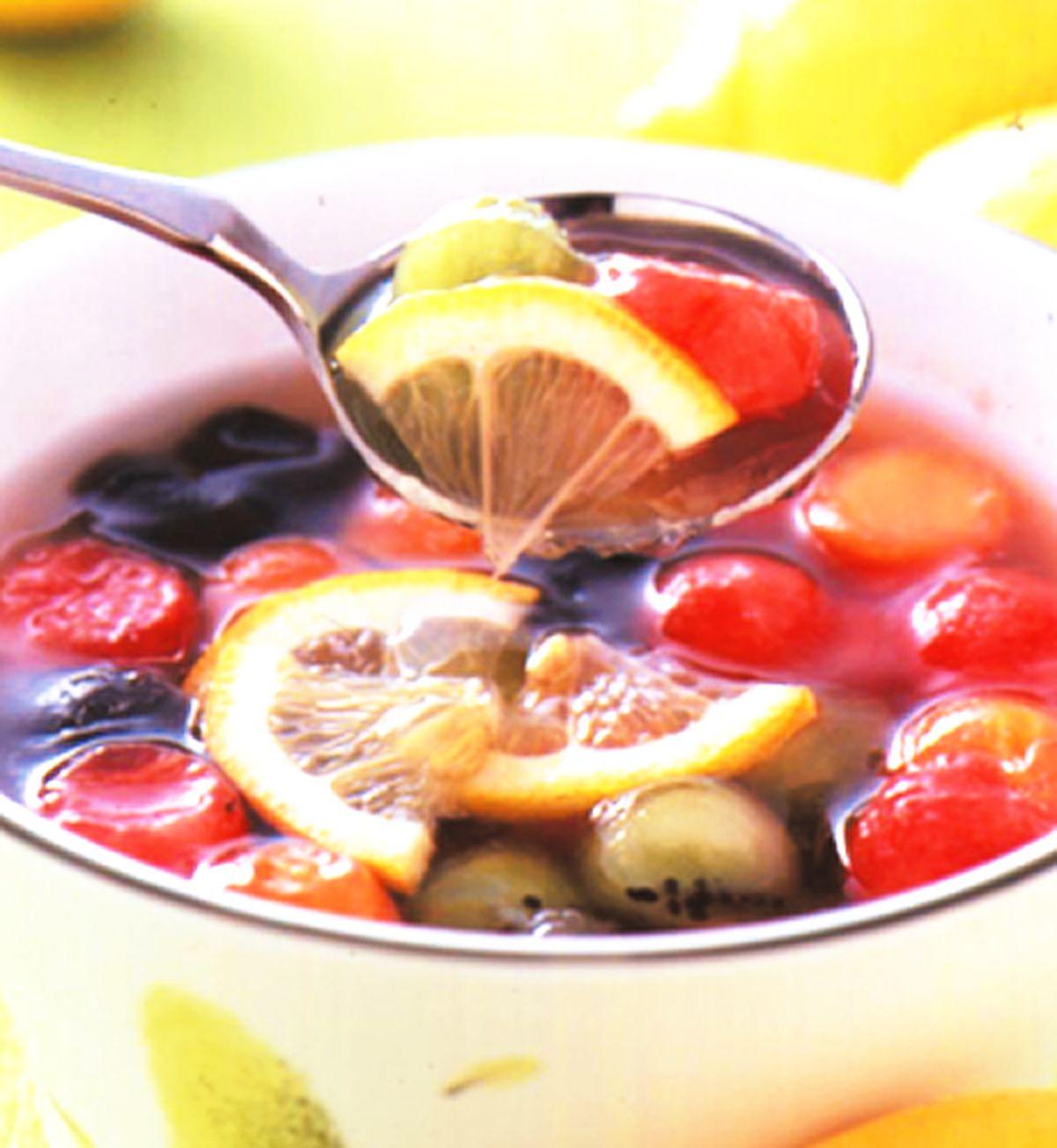 食譜:仙草黃檸檬水果凍