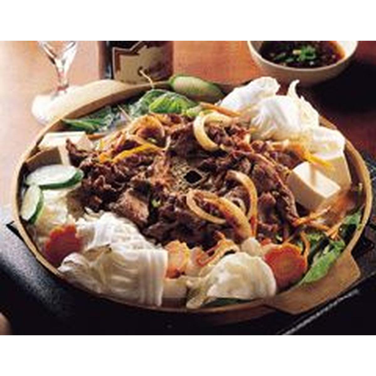 食譜:韓國烤肉火鍋