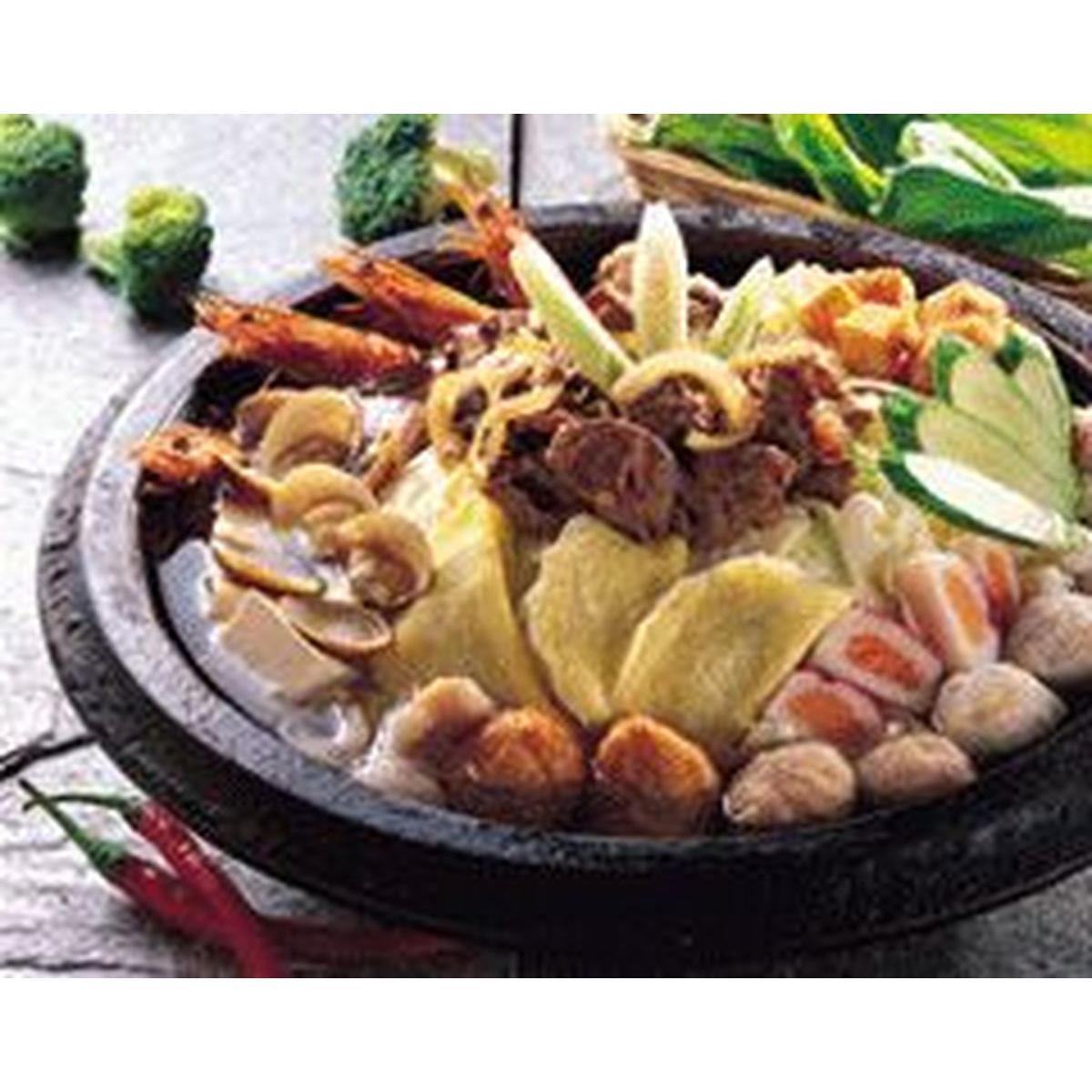 食譜:石頭火鍋