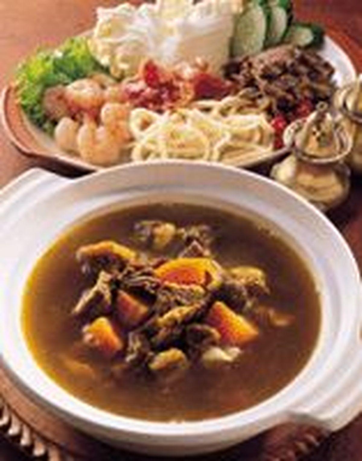 食譜:印度咖哩火鍋