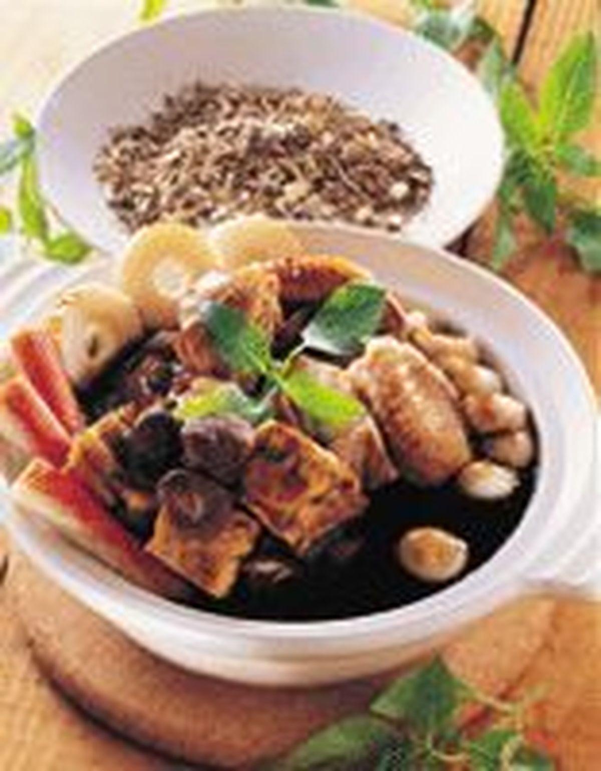 食譜:黑森林仙草火鍋