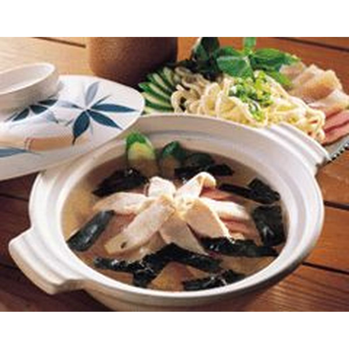 食譜:海苔魚片火鍋