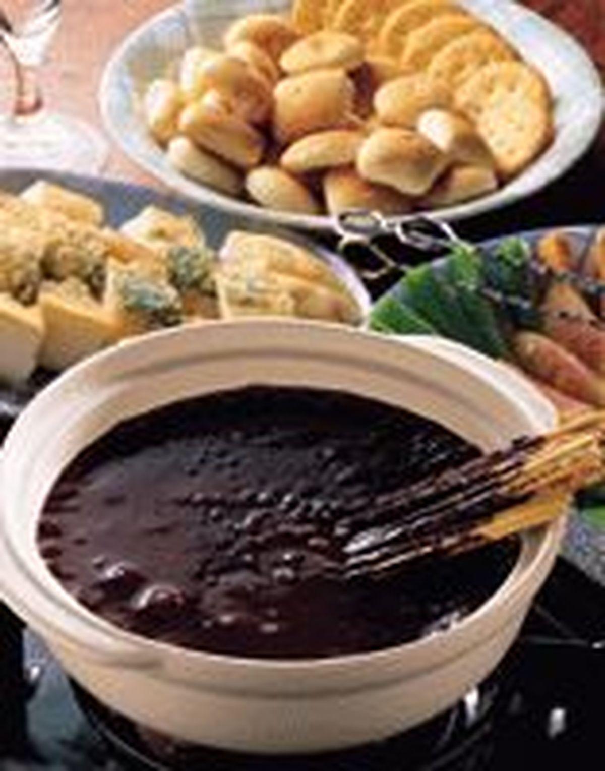 食譜:巧克力火鍋