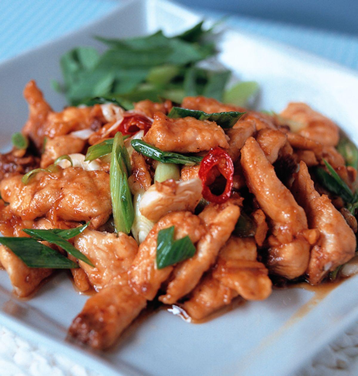 食譜:蒜炒鯊魚片
