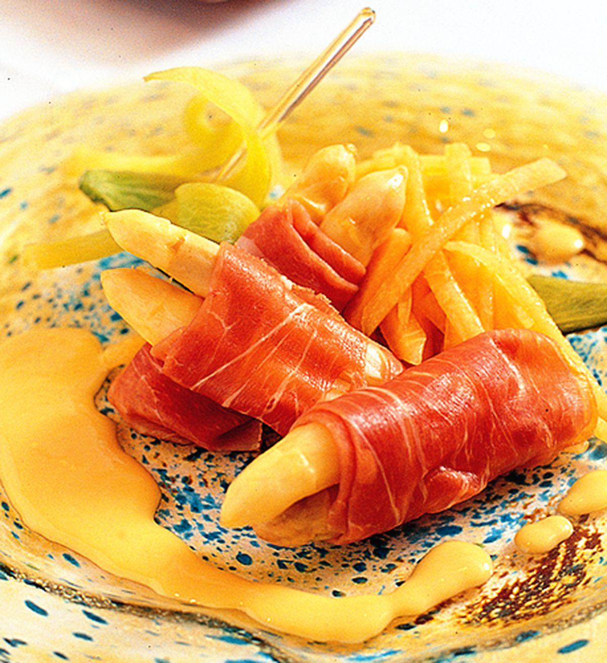 食譜:白蘆筍佐義式風乾火腿