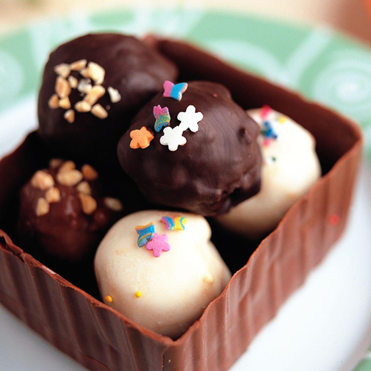 食譜:巧克力球(1)