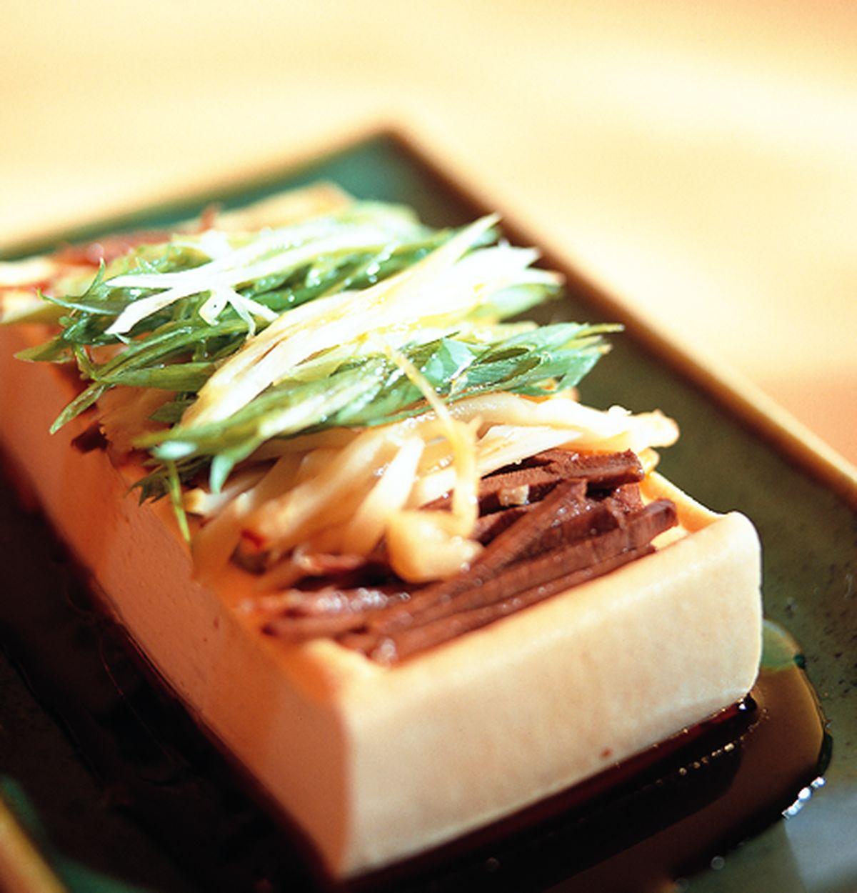 食譜:蔥油豆腐