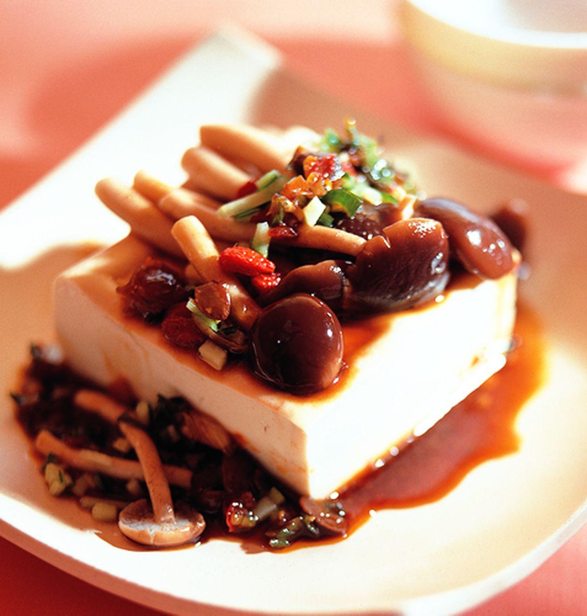 食譜:藥膳冷豆腐