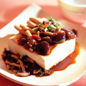 藥膳冷豆腐