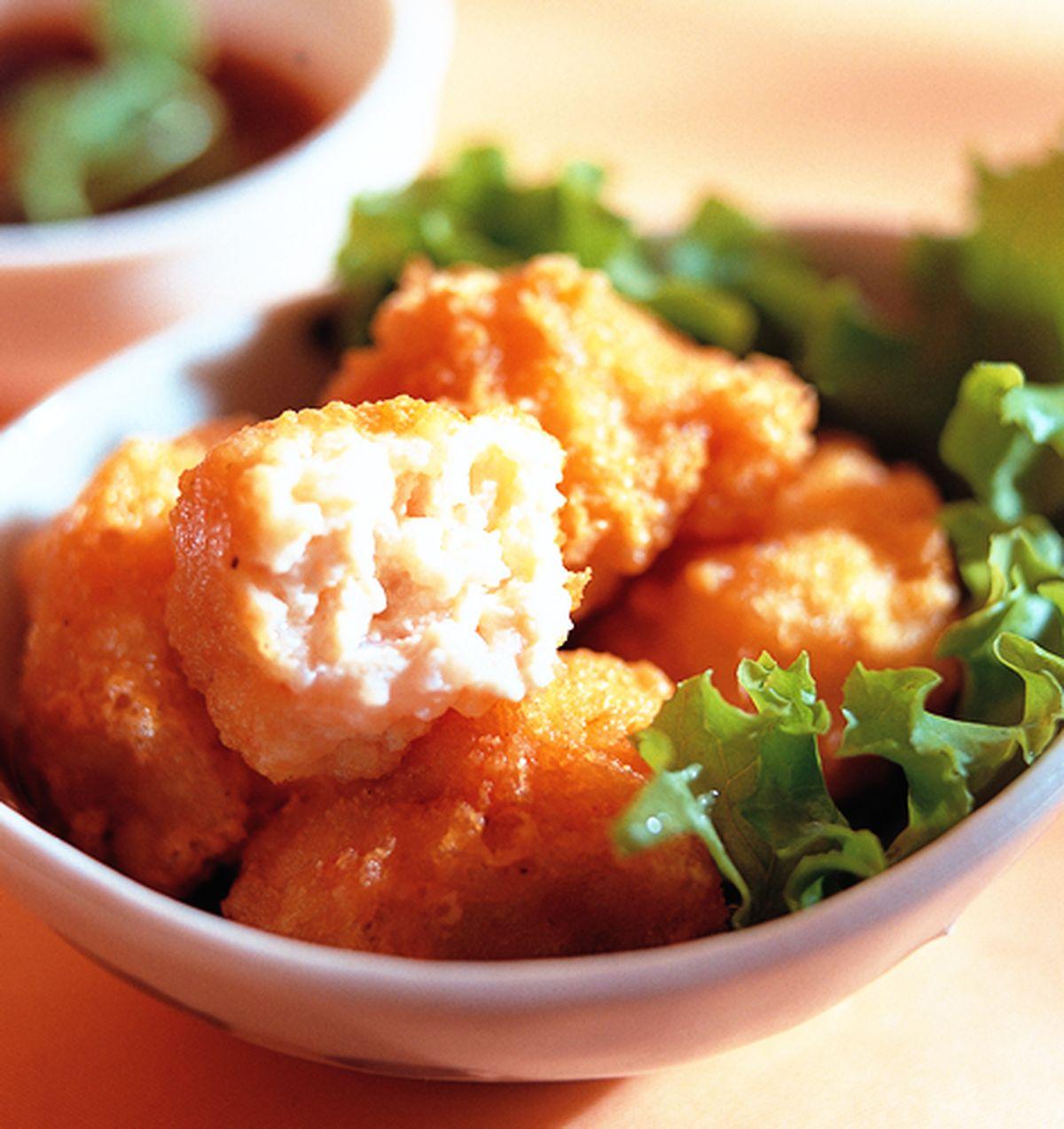 食譜:百花豆腐球